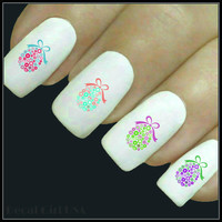 Easter Nail Decal 20 Easter Egg Water Slide Decals Nail Art
