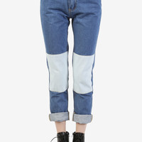 Meena Patchwork BFF Denim Pants