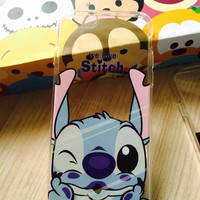 "Lilo & Stitch ""We Love Stitch"" Silicone Soft TPU Transparent Back Case Cover for Apple iPhone 4 4S 5 5S 5C SE 6 6S 6 Plus 6s Plus 7 & 7 Plus"