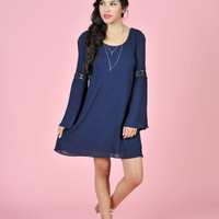 Bell Sleeve Tunic Dress - The Snooki Shop