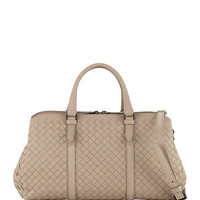 Bottega Veneta Medium East-West Intrecciato Leather Handle Bag