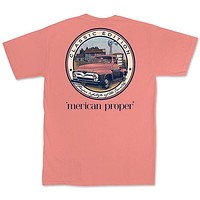 SALE Merican Proper Classic Country Truck Pigment Dyed Unisex T-Shirt