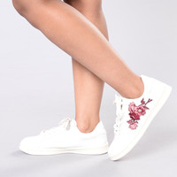 Rock And Rose Sneaker - White