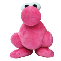 Pink Nerds Plush Character