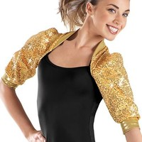3/4 Sleeve Sequin Shrug - Balera