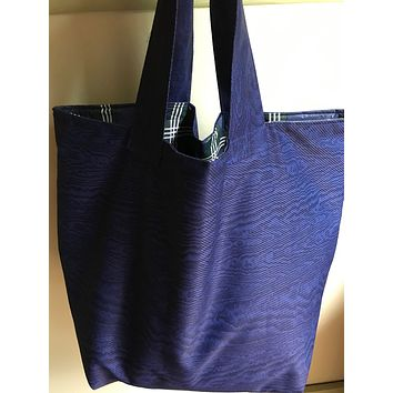 Recycle Bin Bag - Large Waterproof Bag to hold Recycled items In Blue/Black