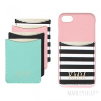 Personalized Phone Case Pockets | Marleylilly