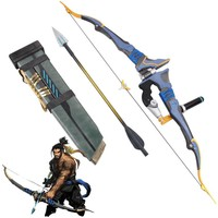 Overwatch Cosplay Hanzo Life Size Storm Bow with Arrow and Quiver