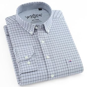 Button-down Long Sleeve Oxford Shirts