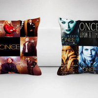 once upon a time all characters Square couple pillow cover