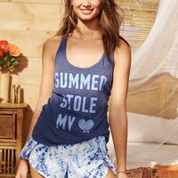 The Mayfair Graphic Tank & Short Set - Victoria's Secret