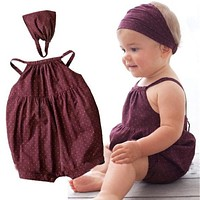 Baby Girls Clothing Sets Baby Girl Dress born Baby Clothes Infant Jumpsuits