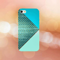 Sea Blue Striped Hipster Boardwalk Phone Case for iPhone 6 6 Plus iPhone 5 5s 5c 4 4s Samsung Galaxy s6 s5 s4 & s3 and Note 5 4 3 2