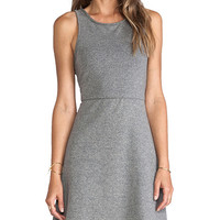 MM Couture by Miss Me Racerback Dress in Gray
