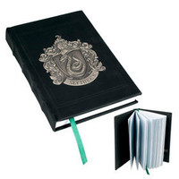 Slytherin Metal Crest Journal | Universal Studios Merchandise