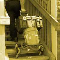 All-Terrain Stair Climbing Folding Carts that are up for Anything!