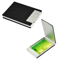 New Fashion Hot Sale Men's Coffee Synthetic Leather Pocket Business Name Credit Card ID Holder Case Box