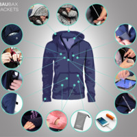 The World's Best TRAVEL JACKET with 15 Features    BAUBAX