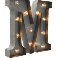 letter marquee light