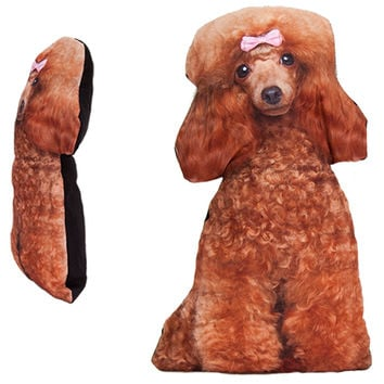 DOG LOVER'S POODLE PILLOW
