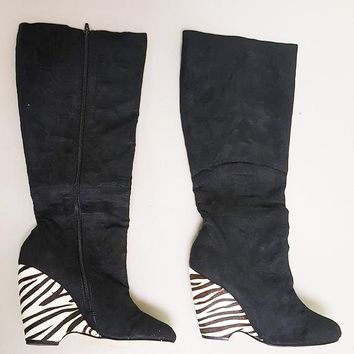 MICHAEL ANTONIO PAPARAZZI WEDGE BOOT (SAMPLE)