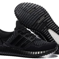 Adidas Yeezy Ultra Boost Black Men/Women shoes