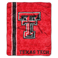 Texas Tech Red Raiders NCAA Sherpa Throw (Jersey Series) (50in x 60in)