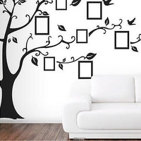 Picture Removable Wall Decor Decal Sticker Family Tree Vinyl Washable LivingRoom