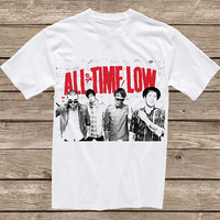 Custom all time low design clothing for T-shirt mens and T-shirt women