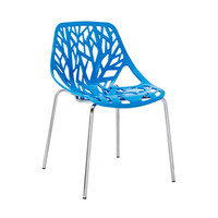 Tree of Life Side Chair - Blue