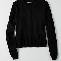 Don't Ask Why Lightweight Sweater, Black