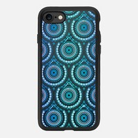 Peacock Medallions iPhone 7 Case by Nina May Designs | Casetify
