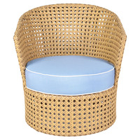 Propeno Outdoor  Chair, Periwinkle, Outdoor Club Chairs