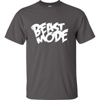 Beast Mode Workout Training wars gym fitness T-Shirt Tee Shirt T Shirt Mens Ladies Womens Modern Spooky Nerd Geek UnDead DT-341