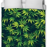 Weed Duvet Cover