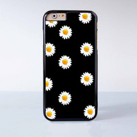 "Cute Daisy plastic phone case for iPhone 6 (4.7"")  More case style can be selected"