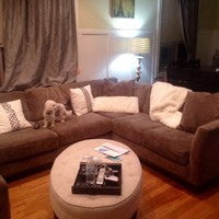 Taupe Sectional Couch