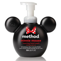 Method Minnie Mouse Foaming Hand Wash, Strawberry Fizz, 8.5 Ounze (Pack  of 6)