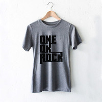 One Ok Rock Name Unisex T Shirt Style White Black Gray Reaclothstore