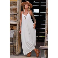 Perfection Pocket Maxi Dress - Ivory