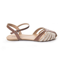 Brown Tandy Strap Toe Sandals