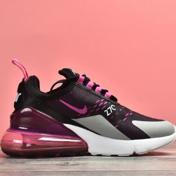 NIKE Air Max 270 Women Fashion Contrast Sneakers Shoes
