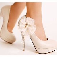 Genelia Wedding Stiletto Heel Women's Pumps