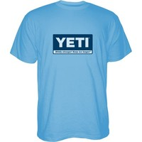 Yeti Men's Billboard Logo Short Sleeve T-shirt | Academy