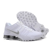 Nike Shox Current Woman Men Fashion Breathable Sneakers Sport Shoes-11