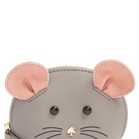 Women's kate spade new york 'cat's meow' mouse coin purse - Black