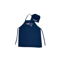 New England Patriots Barbeque Apron and Chef's Hat