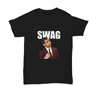 Swag Funny Aziz Parks And Rec Funny TV Show T-Shirt