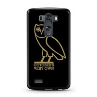 Drake OVO Owl Take Care The Weeknd LG G3 case