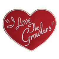 I Love The Growlers Patch